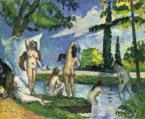 Paul_Cézanne Les Baigneuse 1874 75 New York